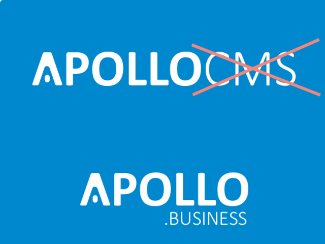 Apollocms wordt Apollo.business
